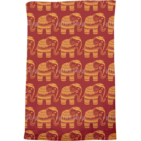 A Bless Of India Bath Towel
