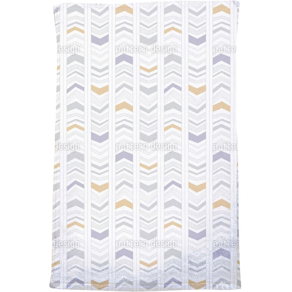 Modern Arrow Stripes Bath Towel