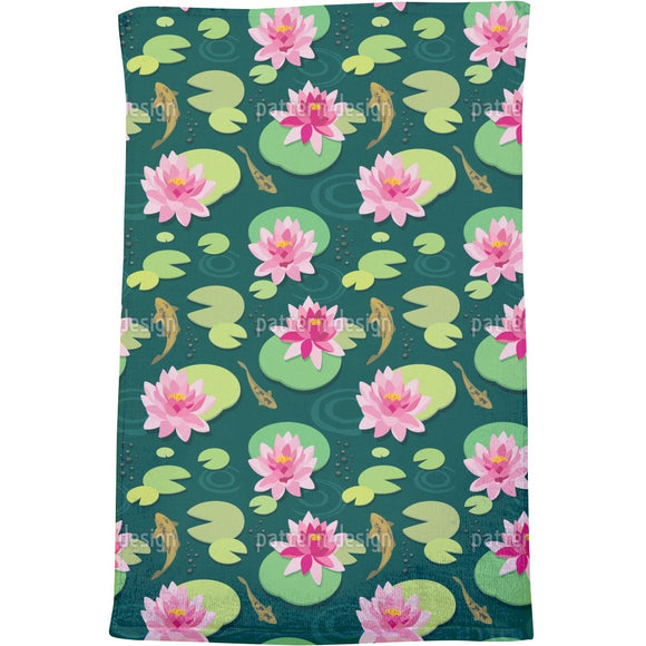 Quiet Pond Bath Towel