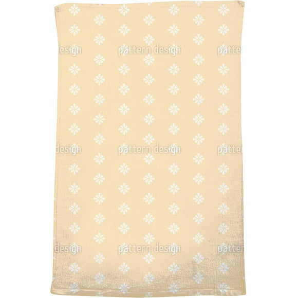 Drop Ornaments Bath Towel