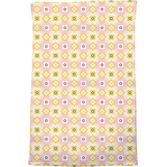 Cute Retro Bath Towel