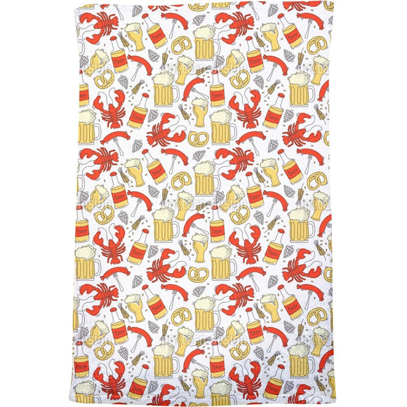 Drink a toast to Octoberfest Bath Towel
