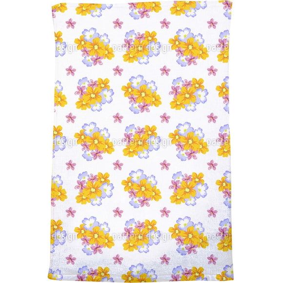 Floral Arrangement Bath Towel