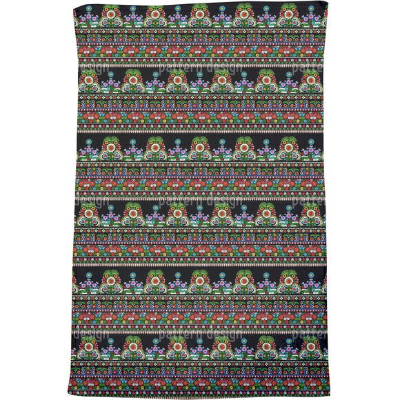 Traditional Hungarian Folk embroidery Bath Towel
