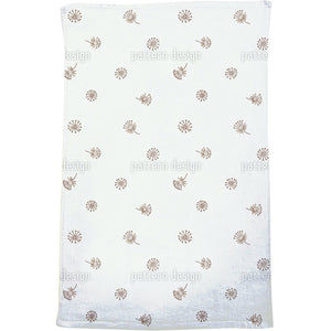 Dandelion Brown Bath Towel