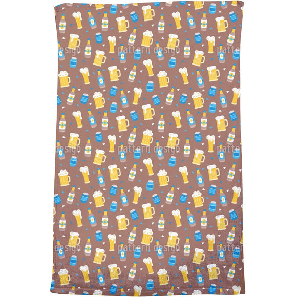 Octoberfest Beer Bath Towel