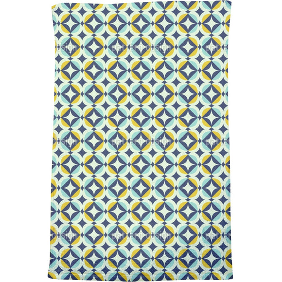 Scandinavian Retro Bath Towel