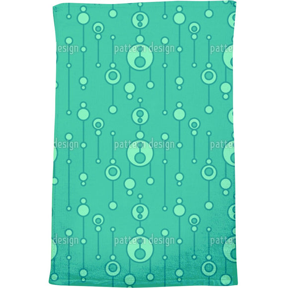 Abstract Talisman Bath Towel