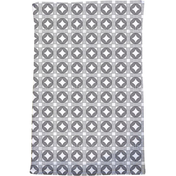 Crosswalk Circles Bath Towel