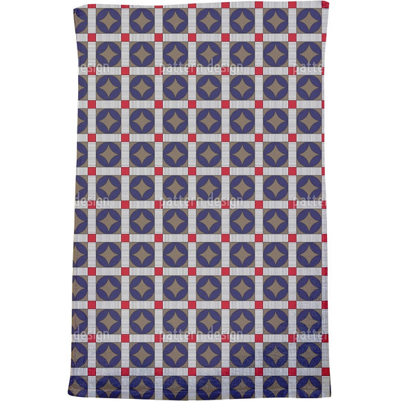 Crosswalk Circle Bath Towel