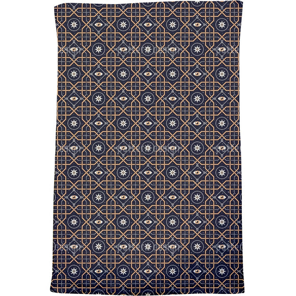 Space Window Bath Towel