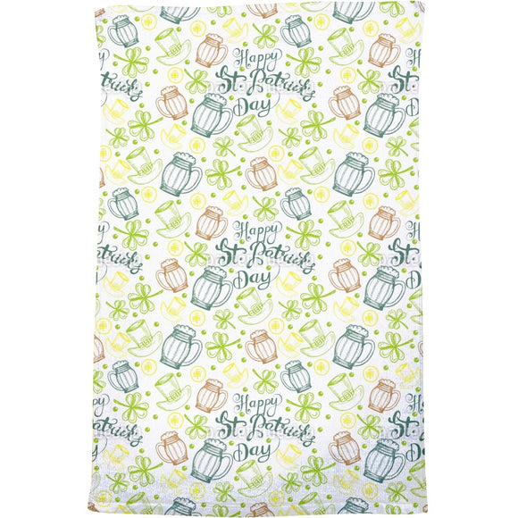 St Paddies Party Bath Towel