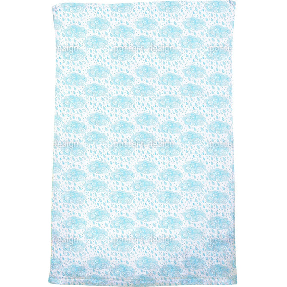 Lovely Rain Clouds Bath Towel