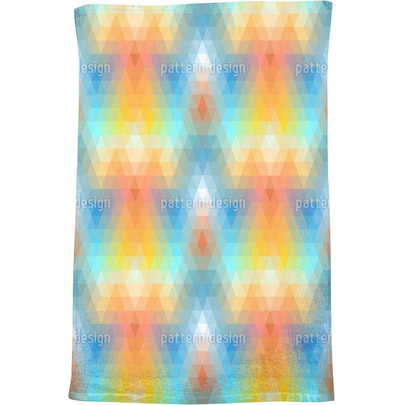 Discomania Pastel Bath Towel