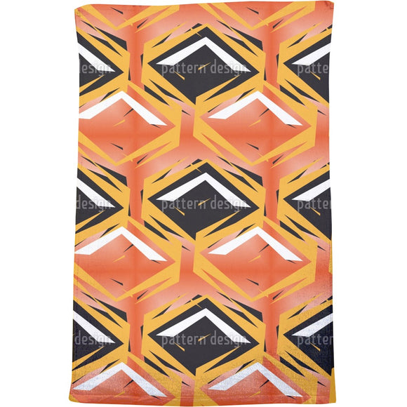 Rhombus In Combat Bath Towel