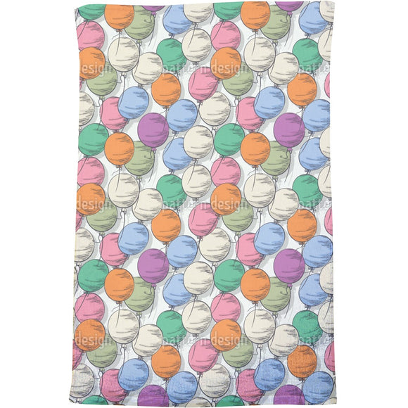 Balloons Bath Towel