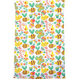 Busy Honey Bees Bath Towel