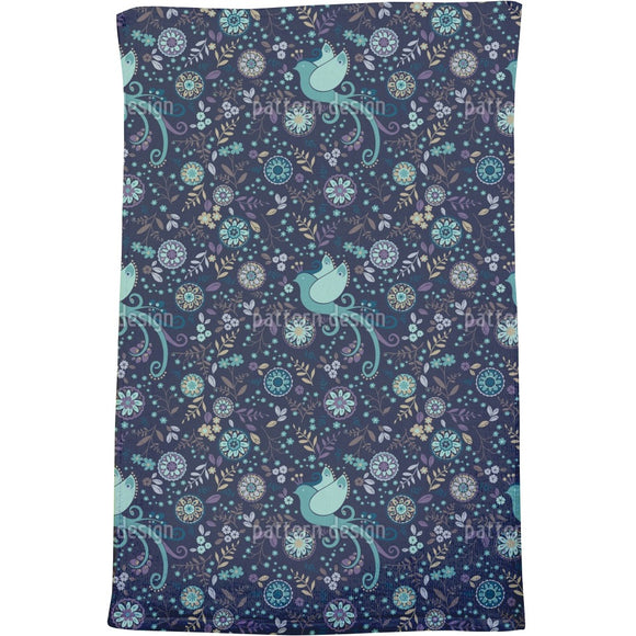 The Bird Queen Of Night Bath Towel