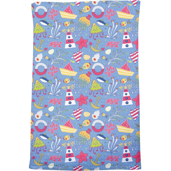 Funny Ocean Bath Towel