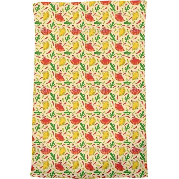 Senorita Chili Bath Towel
