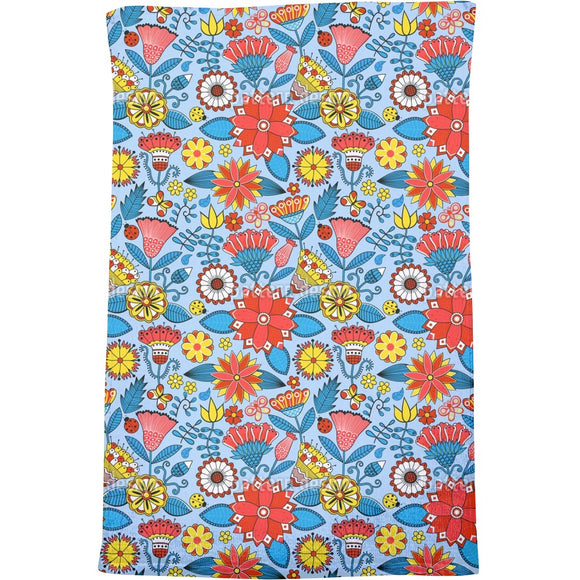 Julias Beautiful Garden Bath Towel