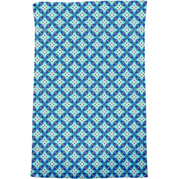 Atlantis Grid Bath Towel