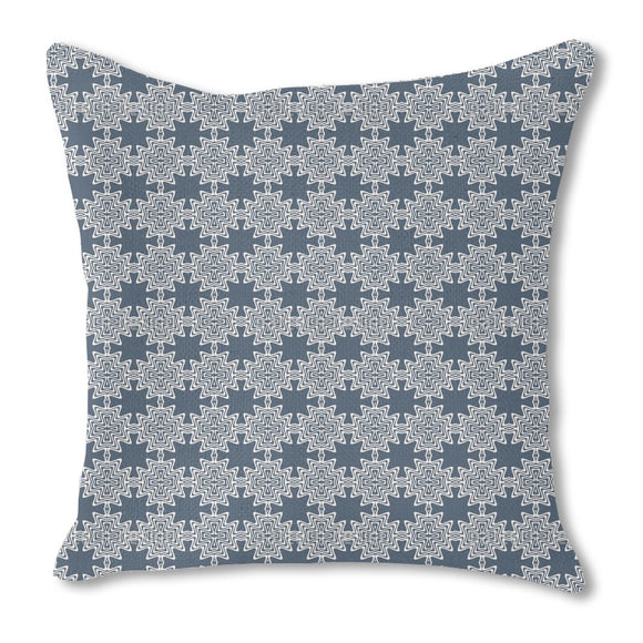 Star Of Oceania Burlap Pillow