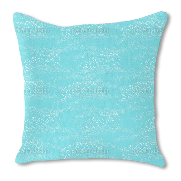 Sparks on water Burlap Pillow