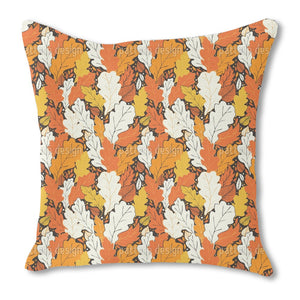 Hello Fall Burlap Pillow
