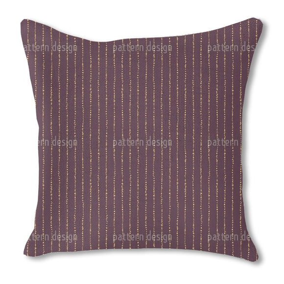 Vertical Stones Burlap Pillow