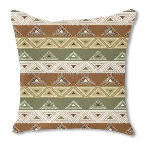 To go on patrol Burlap Pillow