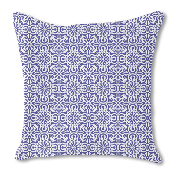 Azulejo Burlap Pillow