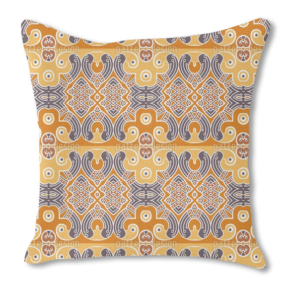 Indian Element Burlap Pillow