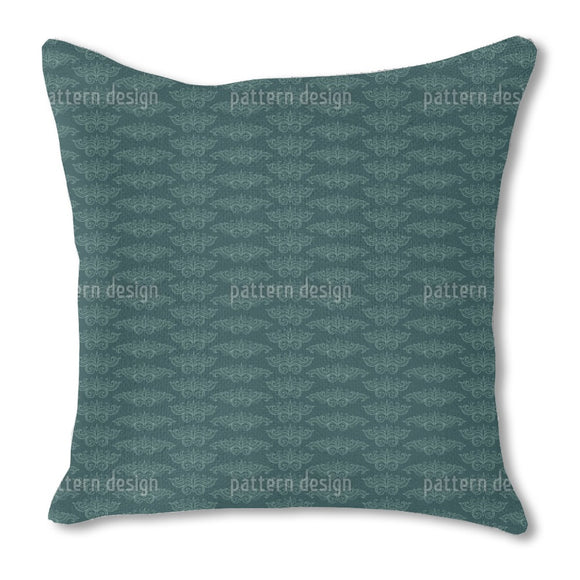 Flying Arabesques Burlap Pillow