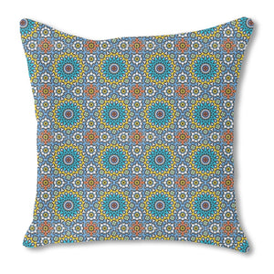Moroccan Joy Burlap Pillow