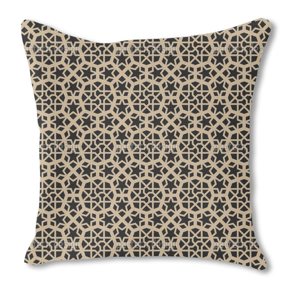 Moorish Prince Burlap Pillow