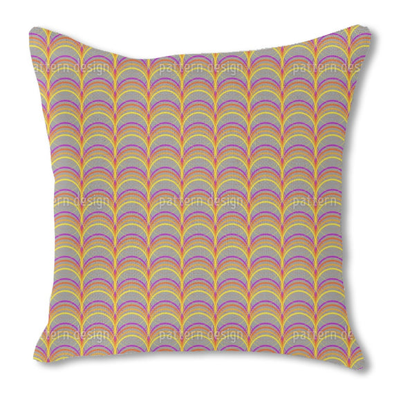 Colorama Burlap Pillow