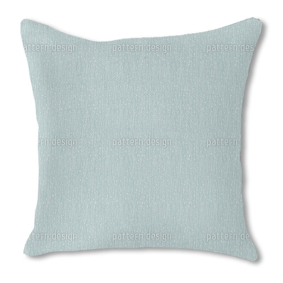 Plankton And Seaweed Burlap Pillow