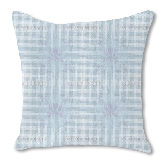 Floral Awakening Of Hibernation Burlap Pillow
