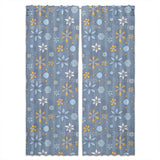 Doodle Flowers And Dots Curtains