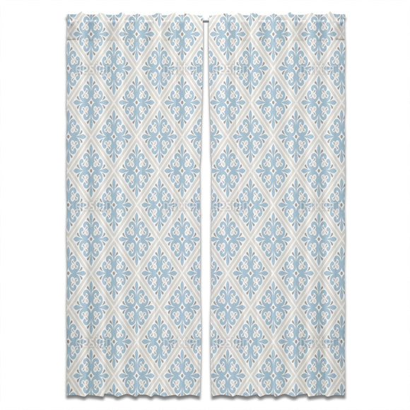 Retro Rhombuses Curtains