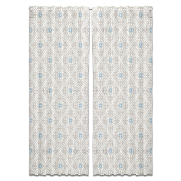 Vintage Intricacy Curtains