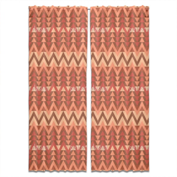 Zigzag Tradition Curtains