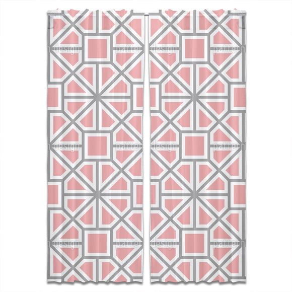 Octagonal Wheel Curtains