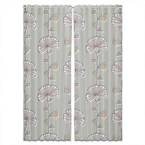 Myrtle Floral Curtains