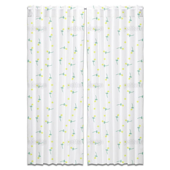 Pick A Flower Or Two Curtains