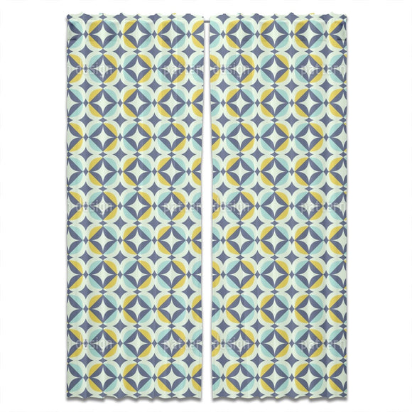 Scandinavian Retro Curtains