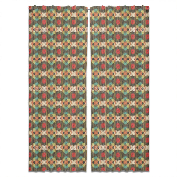 Ethno Retro Curtains