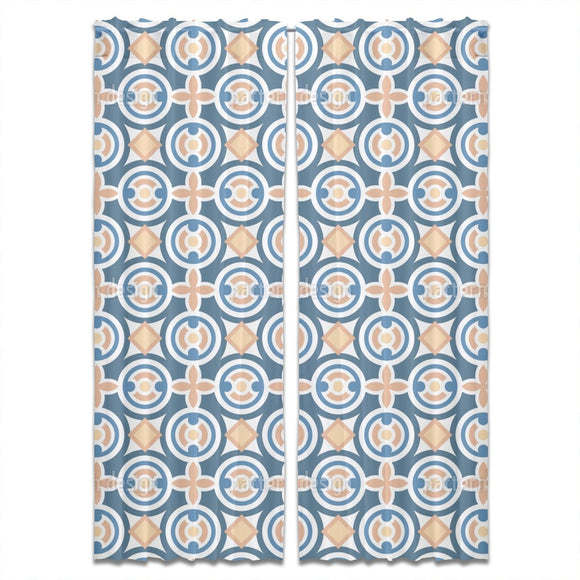 Shapes Tile Curtains