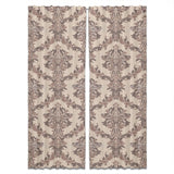 Classy Noble Damask Curtains